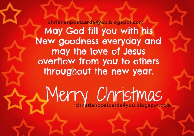 Merry Christmas to you. Free Christian card May you enjoy a Merry Christmas, free christian images with christian quotes for christmas time, holidays, have joy on christmas.