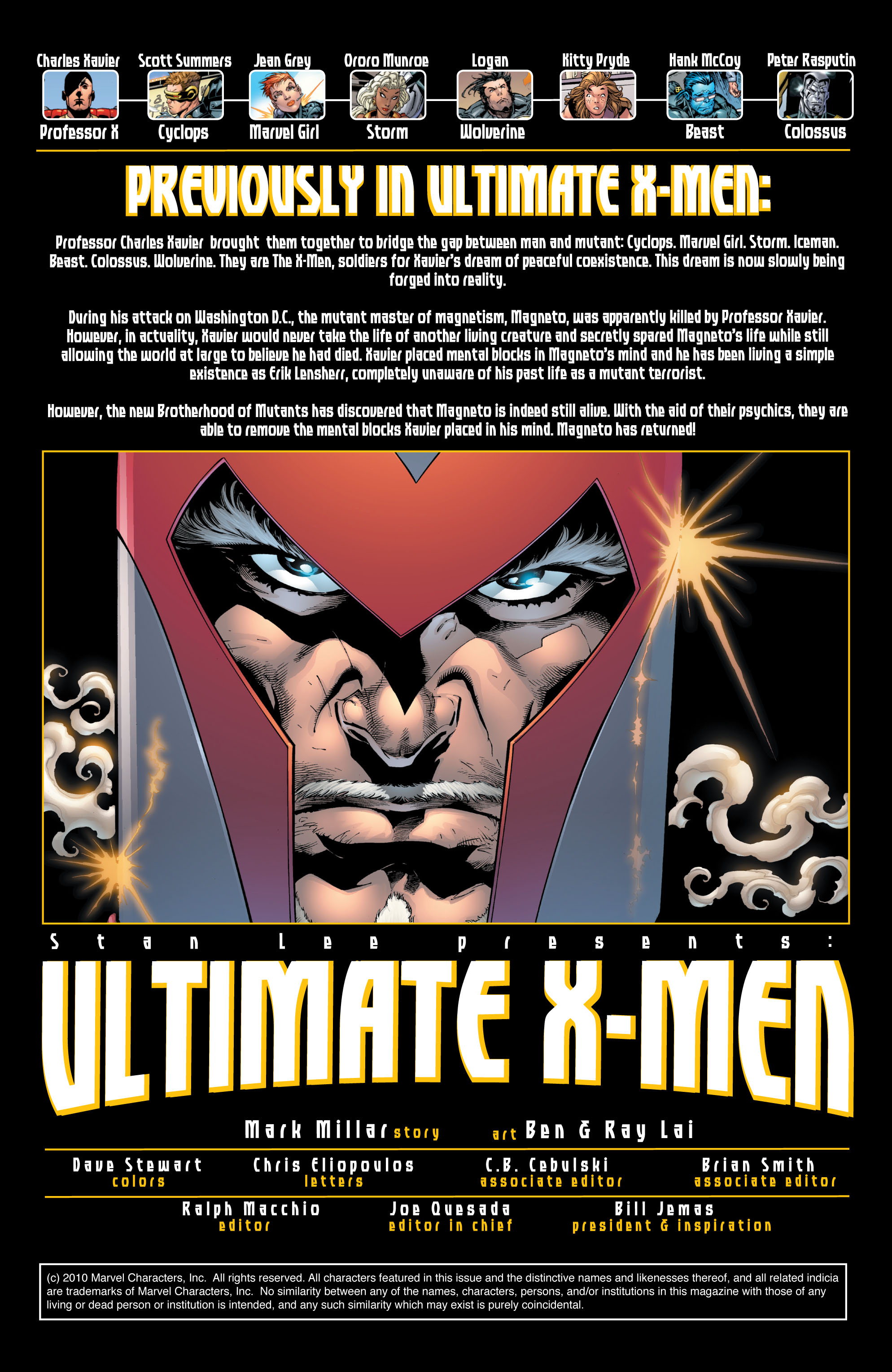 Read online Ultimate X-Men comic -  Issue #26 - 2