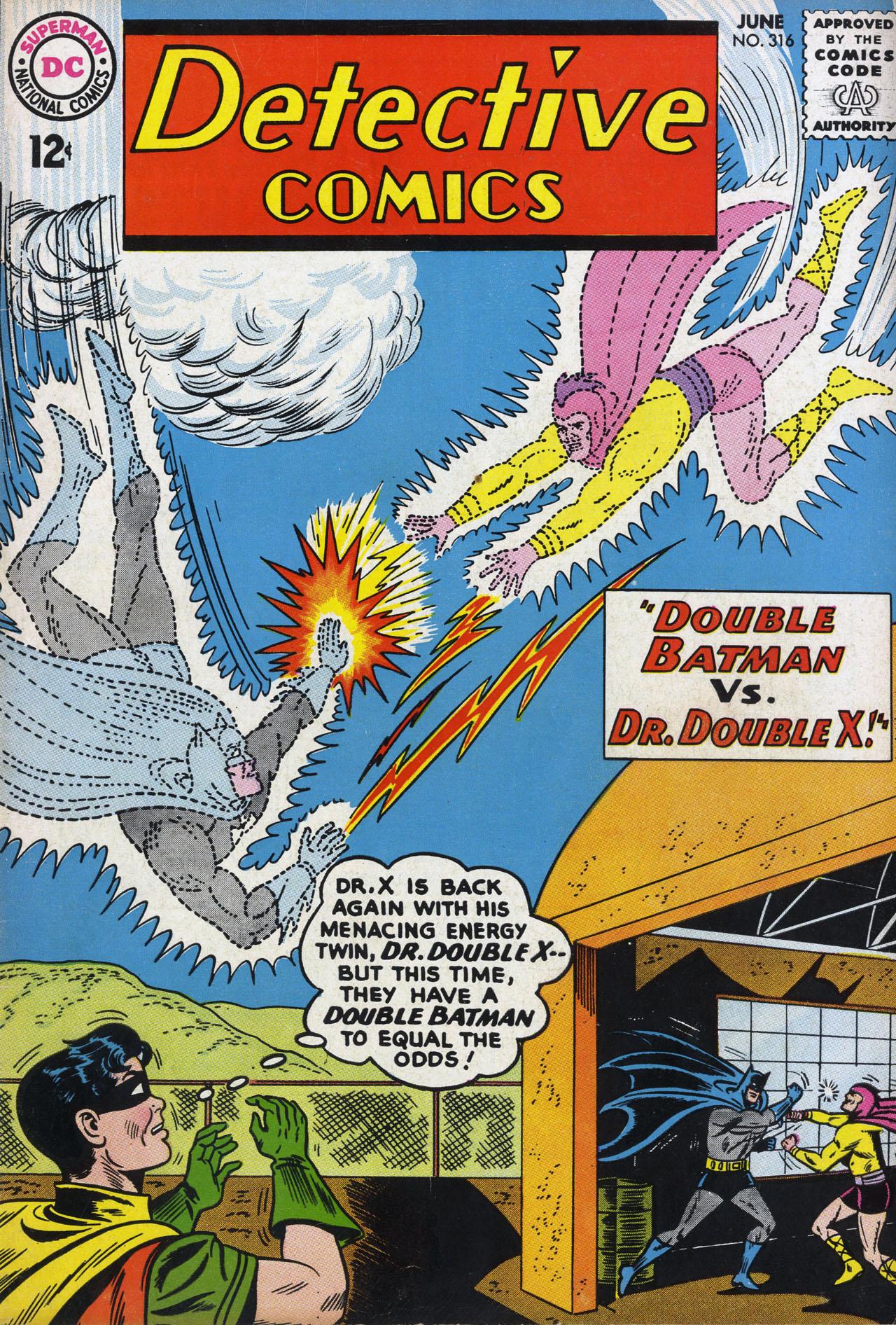 Detective Comics (1937) 316 Page 0