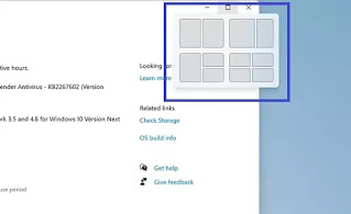Sistem multi-window Windows 11