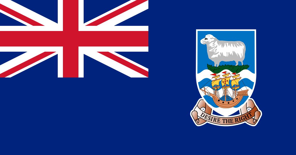 Banderas Del Mundo Bandera de Islas Malvinas