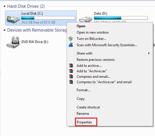 Cara Menghapus File Sampah di Windows 7 Secara Manual   BlogTechno