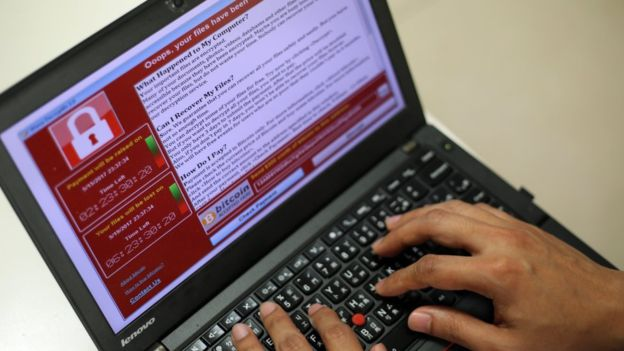 The WannaCry malware threatens to delete users' data unless they pay a ransom