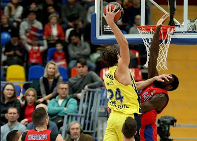 Turkish Airlines Euroleague | CSKA Moscow - Fenerbahçe Doğuş | Jan Vesely