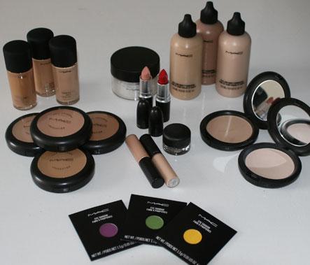 she fashion club mac makeup kits