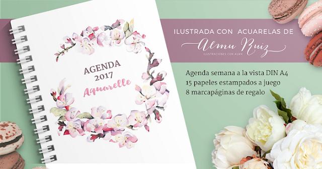 agendaaquarelle2017-papel-organización