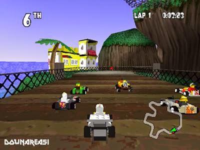 Lego Racers Kart Racing PS1