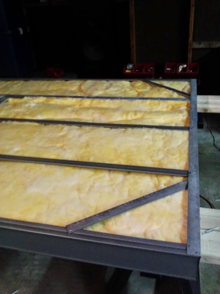 Powder Coating Oven Door Insulation