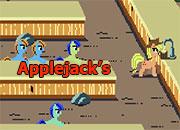 Applejack reparto de jugo de manzanas