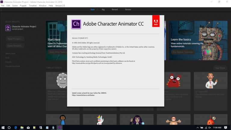 Adobe Character Animator CC 2019 v2.0.1 Full Free Download