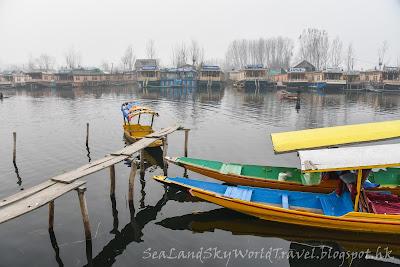 喀什米爾, 船屋, house boat