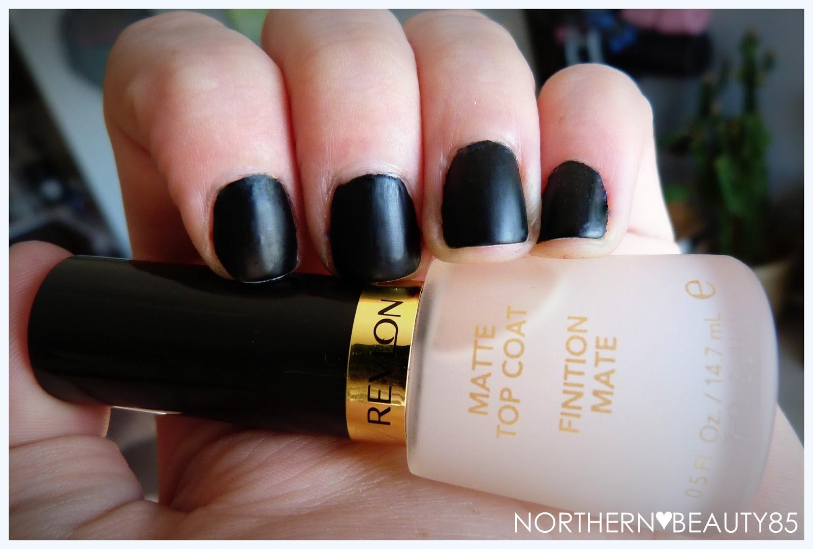 Northern Beauty Nail Of The Week Revlon S Matte Top Coat
