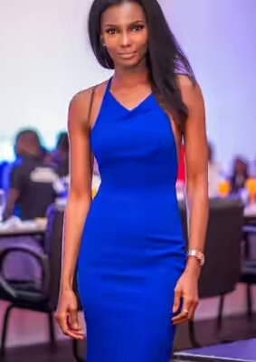 Former Miss World Agbani Darego Flaunts Abs In New Photo