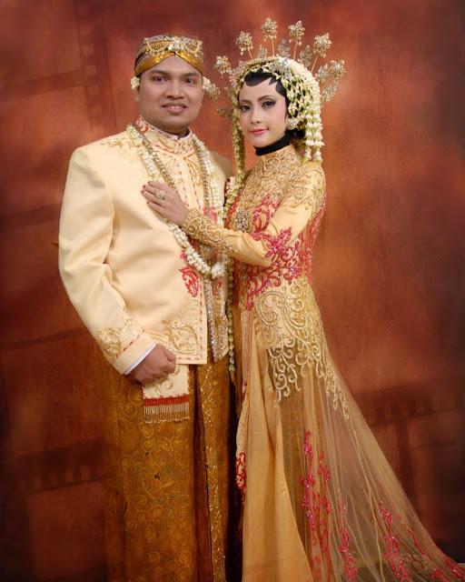 model kebaya muslim pengantin
