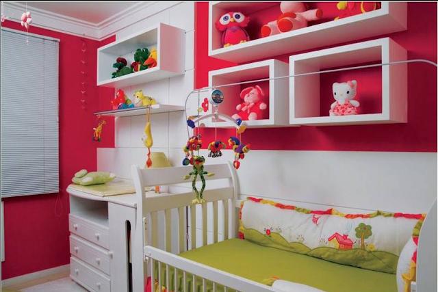 decoracion habitacion bebe colores