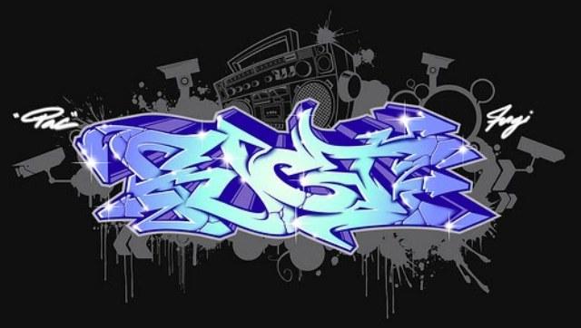 Graffiti Soul 3d Graffiti Alphabet Letters Blue