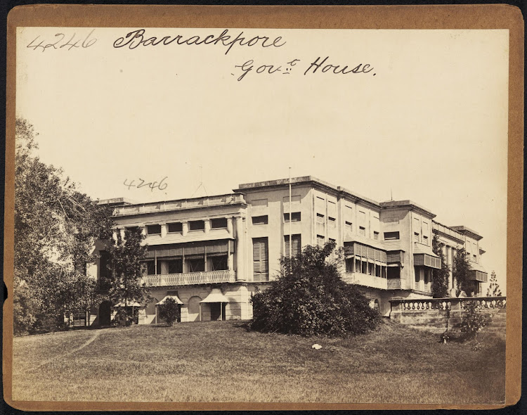 Barrackpore Government Building - 19th Century