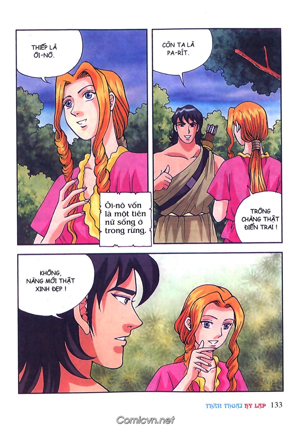 Thần Thoại Hy Lạp Màu - Chapter 50: Hoàng tử Pa rít - Pic 10