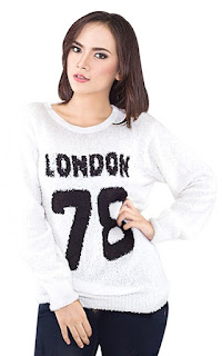 Sweater Wanita London 78 Original INFICLO