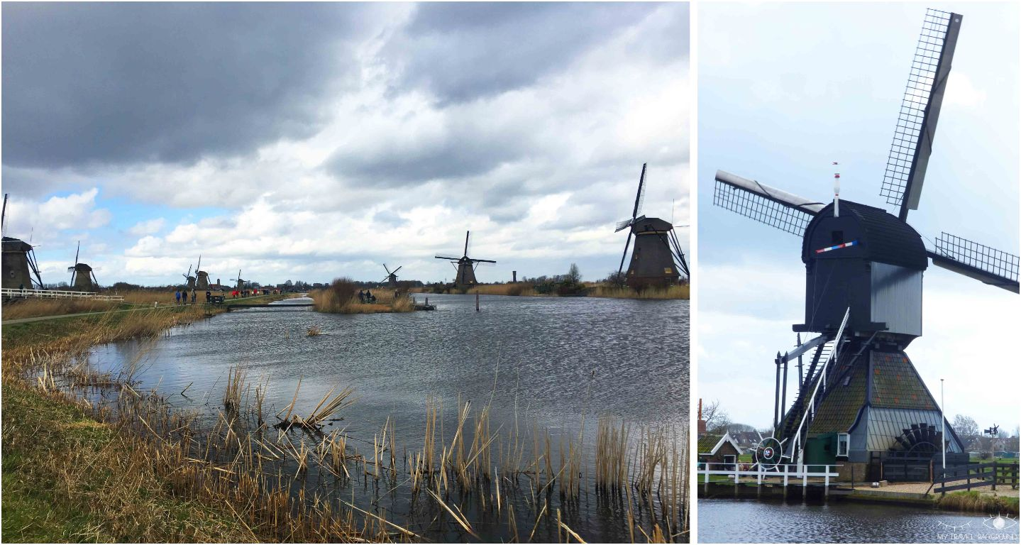 My Travel Background : les Pays-Bas clichés : les moulins de Kinderdijk & Delft - Les moulins de Kinderdijk