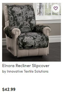 Slipcovers For Wingback Chairs with Square Cushion 3