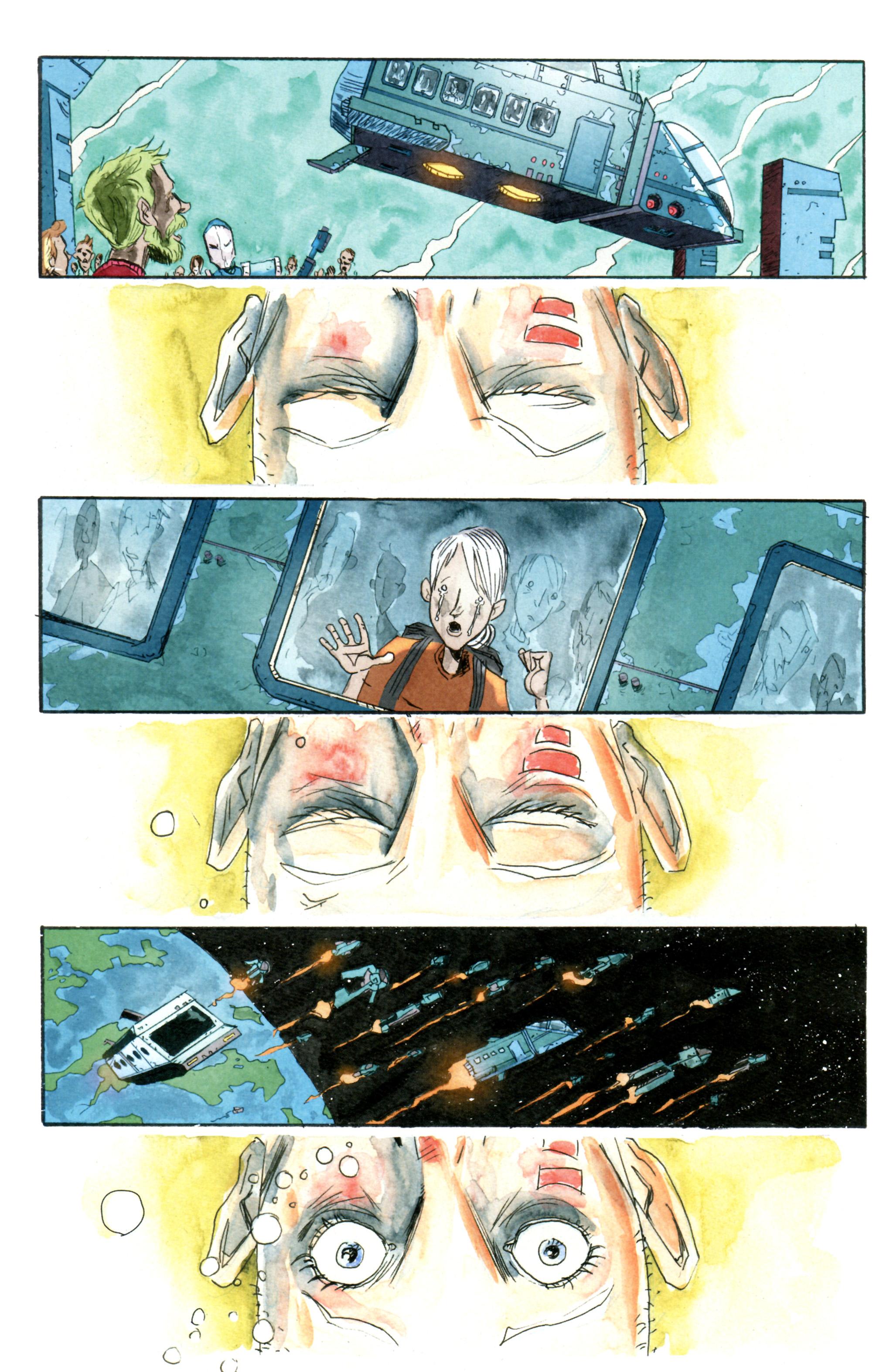 Read online Trillium comic -  Issue #3 - 3