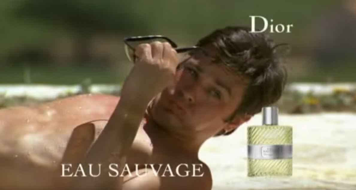 Canzone Pubblicità Dior Eau Sauavage con Alain Delon