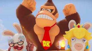 Mario + Rabbids DK Xbox 360 Wallpaper