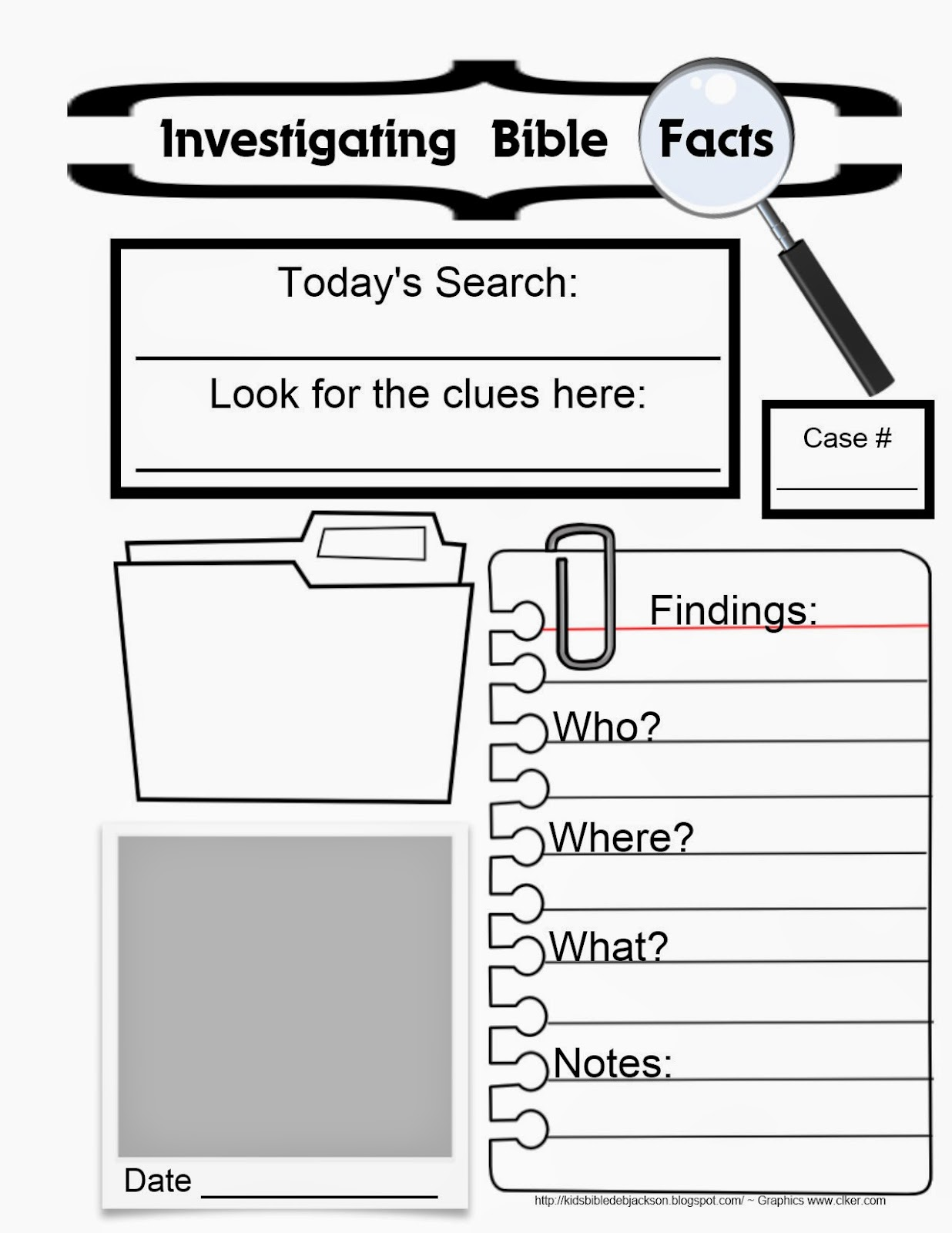 Printable Biblical Worksheets : Bible fun for kids ifa investigating facts in acts