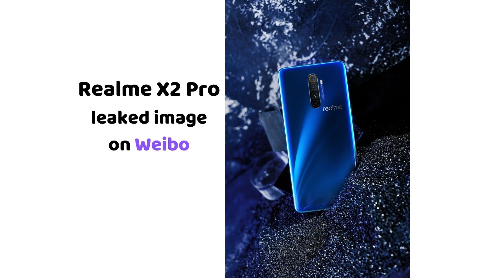 Realme X2 Pro leaked image
