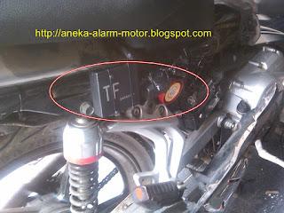 Cara pasang alarm motor remote pada Yamaha Vega R