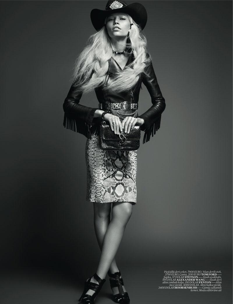 Fashion Oracle: High Fashion Cowgirl