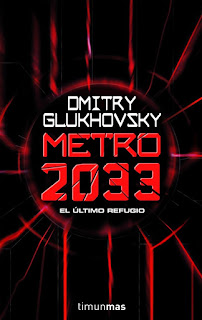 Portada de la edición en castellano de Metro 2033