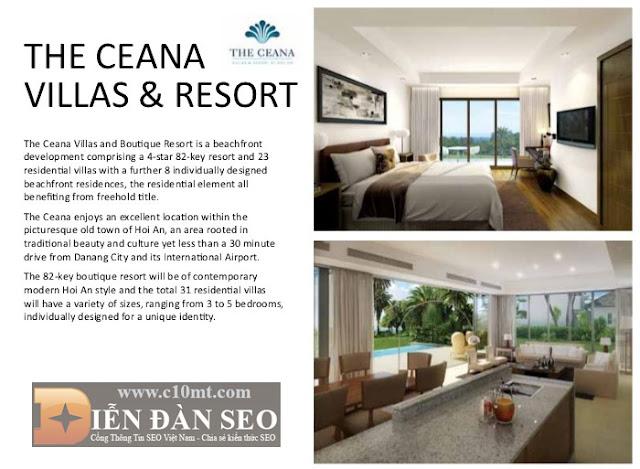dự án the ceana resort của chủ đầu tư vinacapital