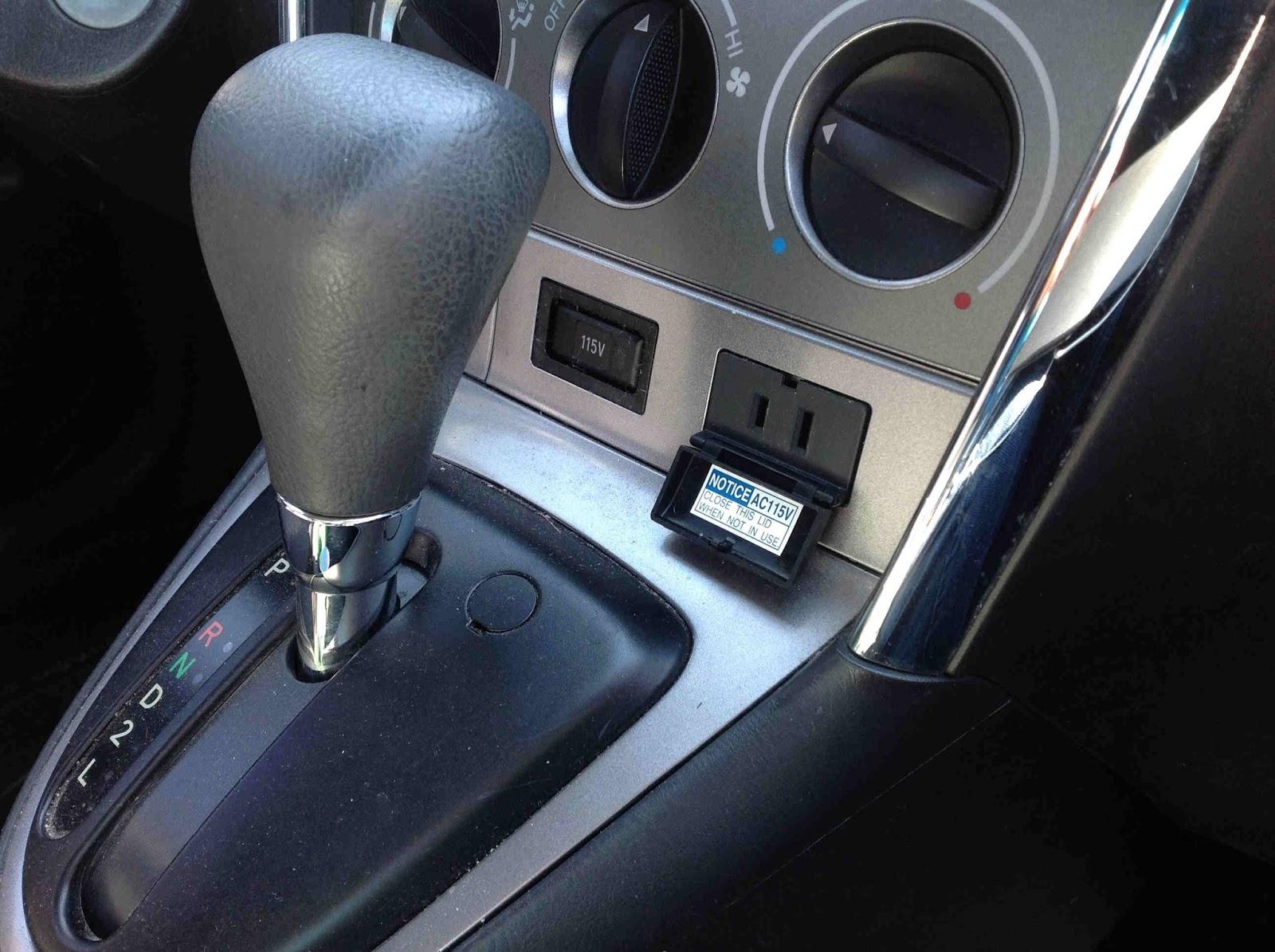J S  Brooks Presents: Using Pontiac Vibe's Unique Power Plug