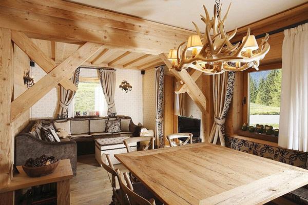Hermosa casa en la monta a ideas para decorar dise ar y - Apartamentos de montana ...
