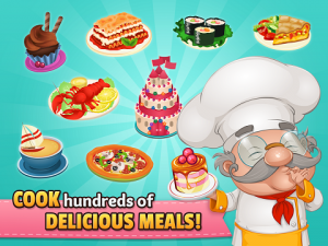 Game Cafeland World Kitchen Mod Apk v1.5.1