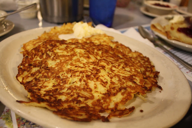 Potato pancakes at Stockholm Inn