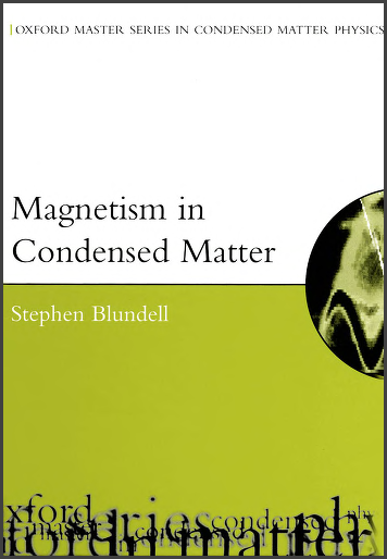 Book : Magnetism in Condensed Matter, Oxford Master Series in Physics - Stephen Blundell