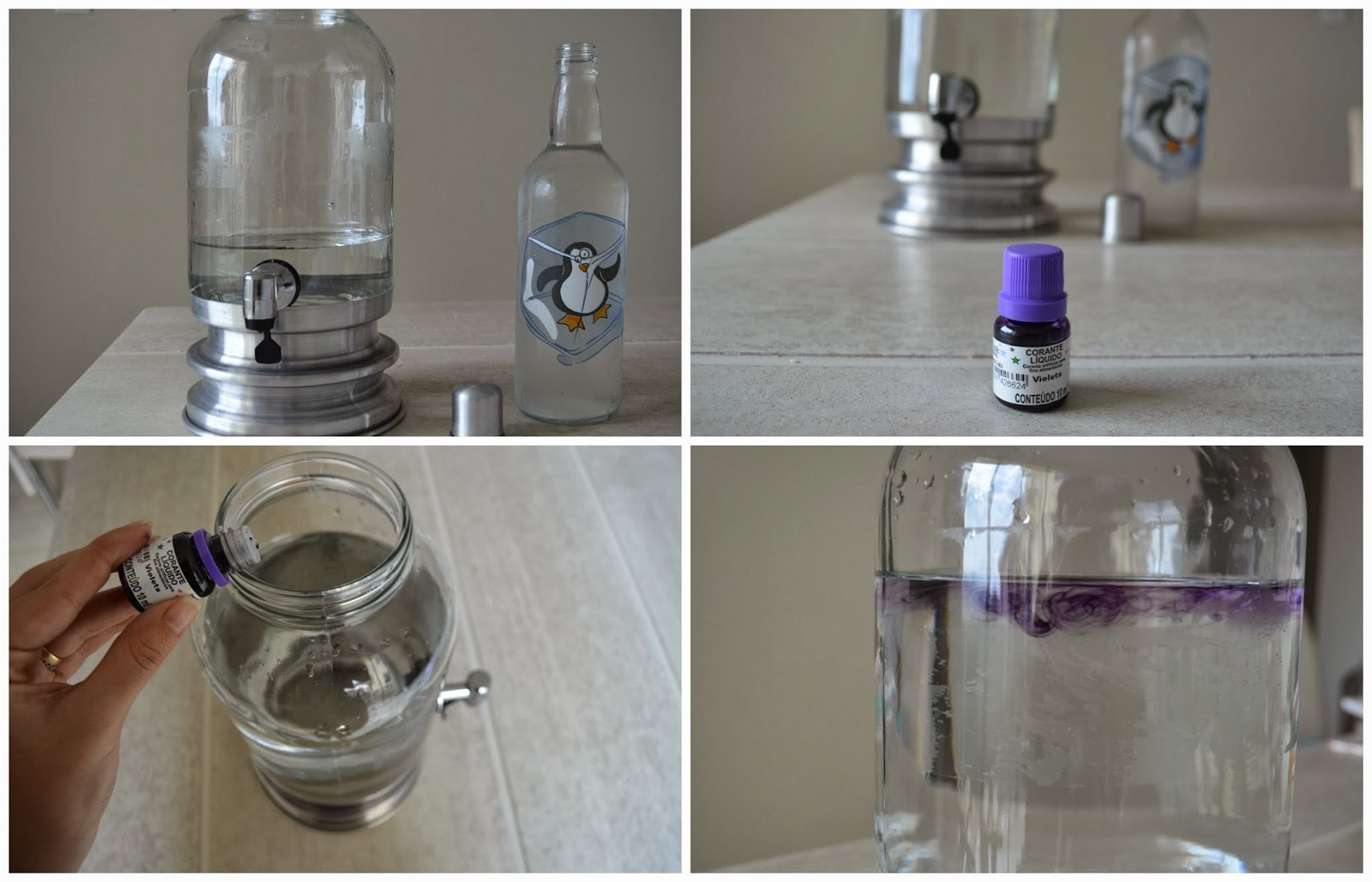 tutorial água aromatizada