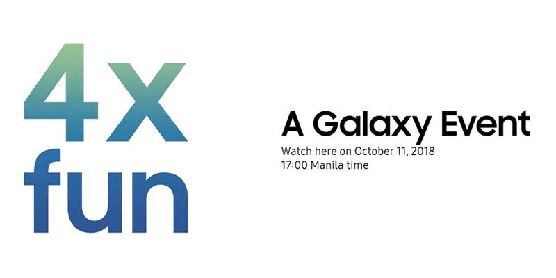 4x fun event invite