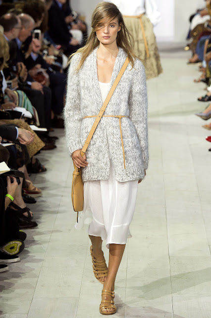 Michael Kors Collection SS 2016 cardigan