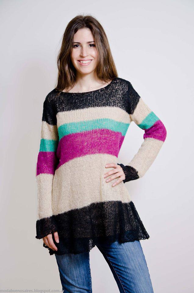 Sweaters invierno 2016 Lares tejidos 2016.