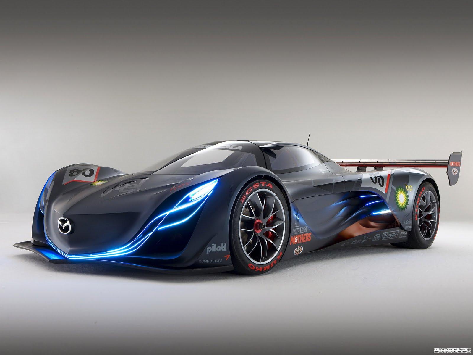 mazda racing car