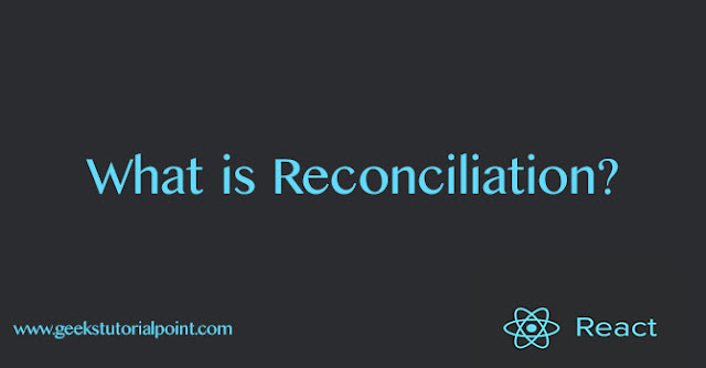 reconciliation in react