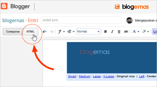 Cara Upload Gambar ke Hosting Blogger