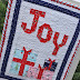 Comfort and Joy Wall Hanging