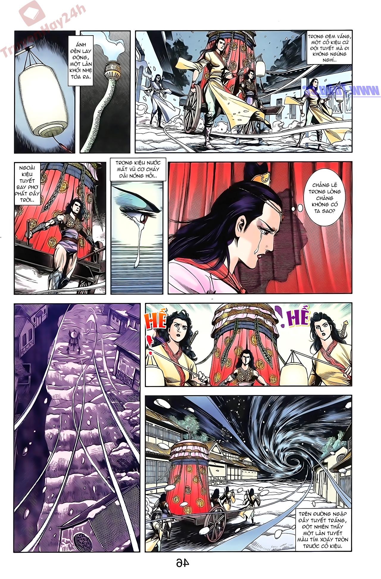 Tần Vương Doanh Chính chapter 51 trang 13