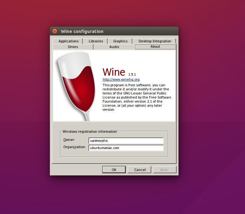 Install Wine 1 9 1 on Ubuntu / Linux Mint Derivative System - The