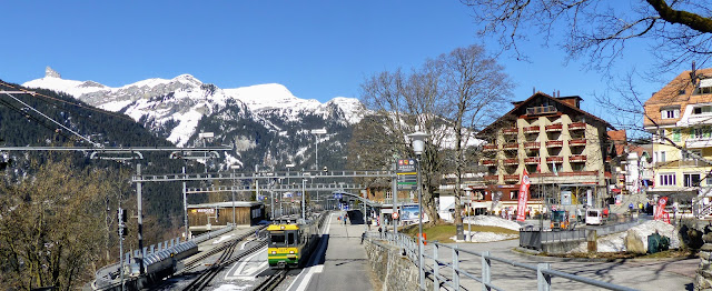 Wengen Train Station